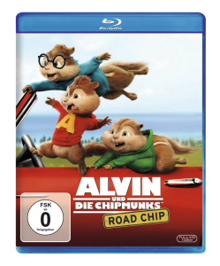 Alvin and the Chipmunks: Road Chip [Blu-ray]